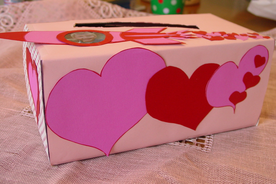 Simply Homemade HomeEcHome – Valentines Card Boxes