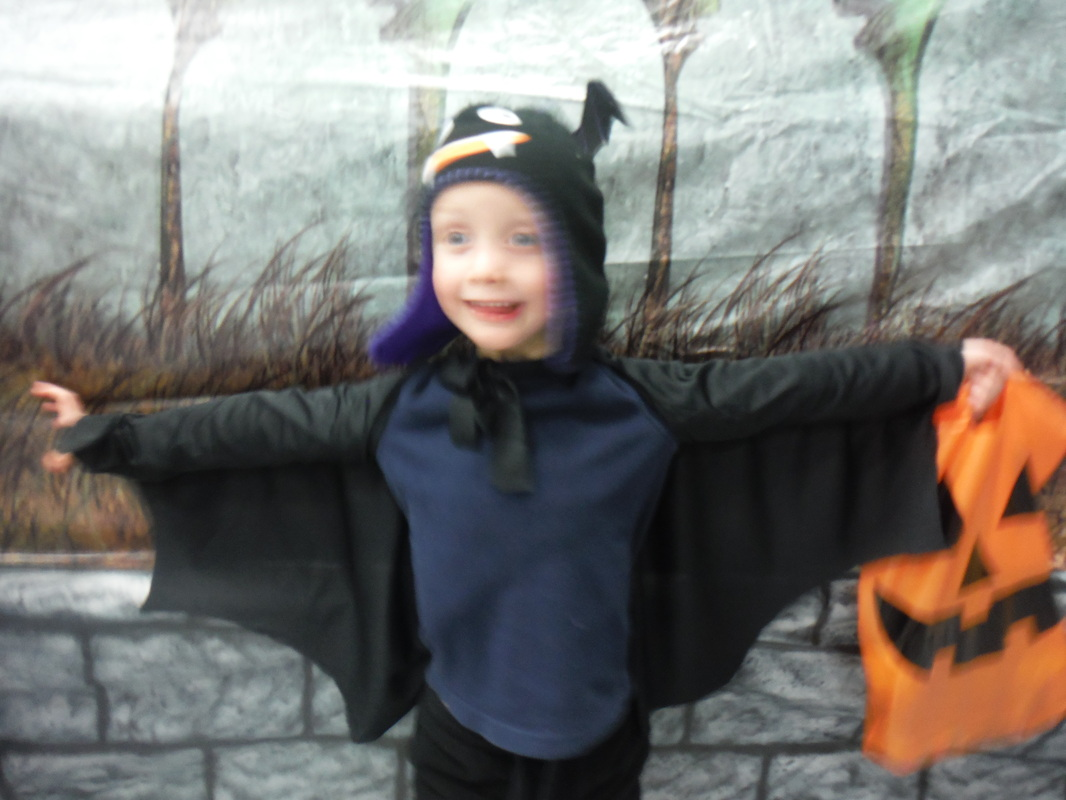 The home economist homeechome my five year old really wanted to be a bat for halloween this year we have lots of costumes in the costume bin but no bats a ready made bat costume was solutioingenieria Choice Image