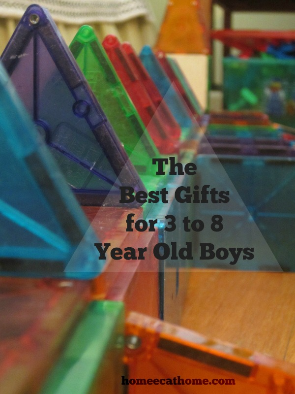 the best gifts for 3 to 8 year old boys homeechome