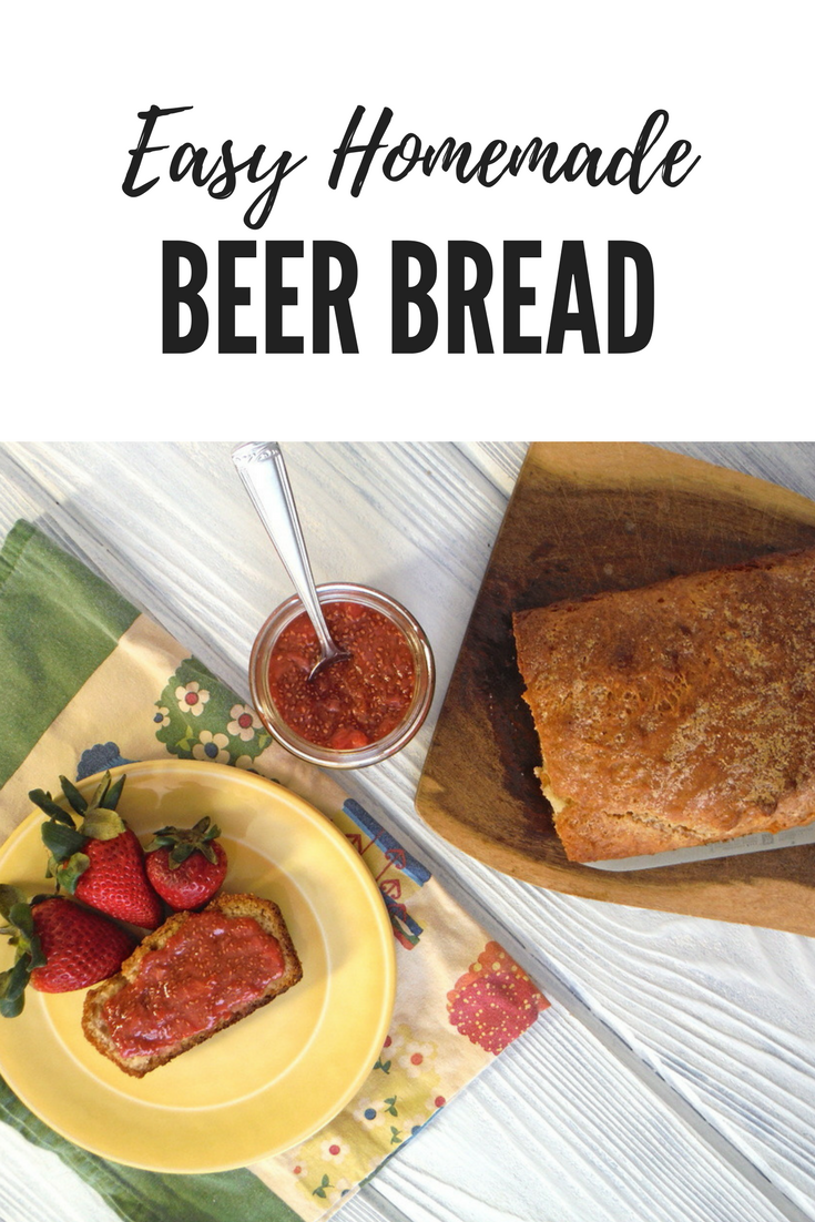 easy homemade beer bread - HomeEc@Home