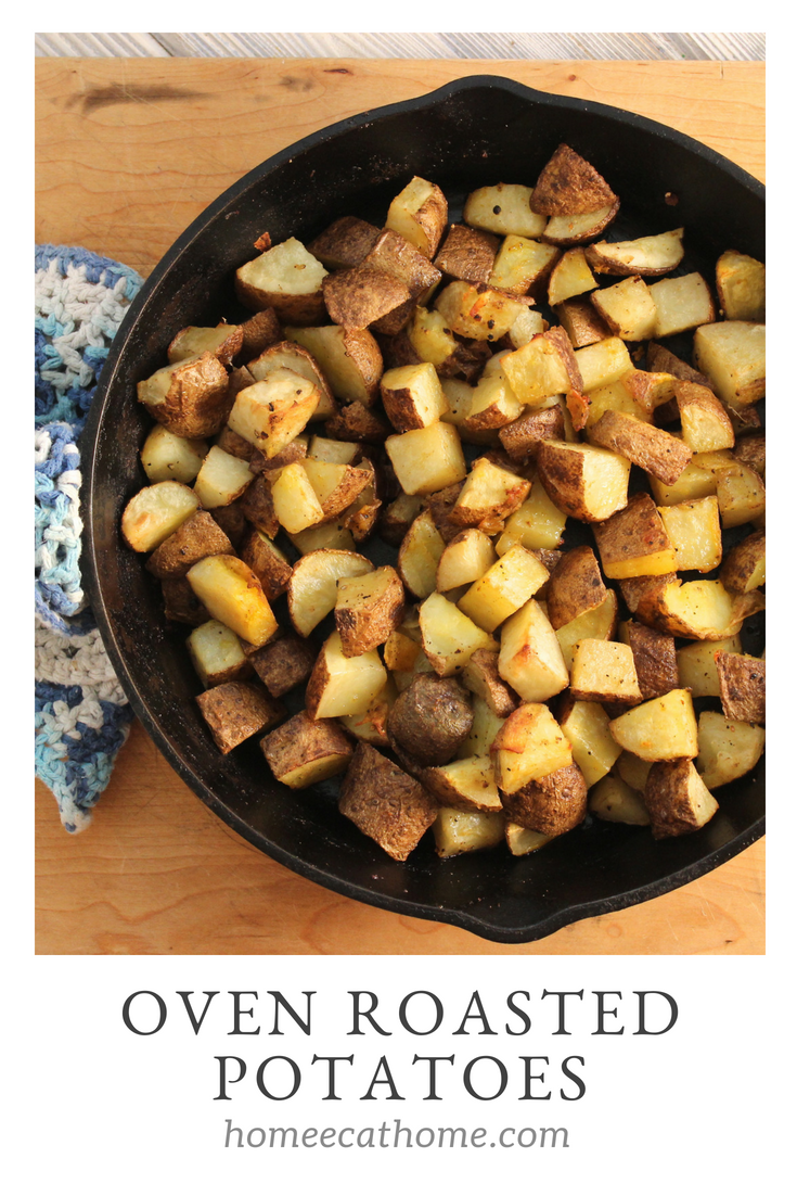 Simple, delicious, and frugal: Oven Roasted Potatoes