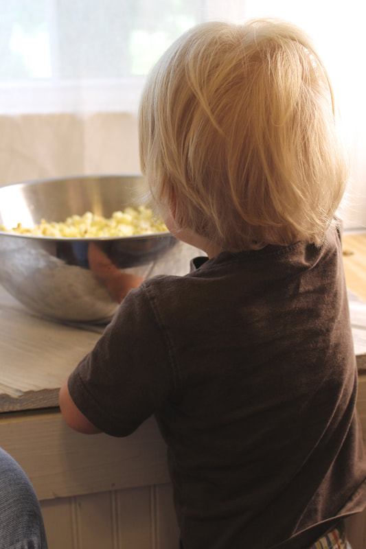 no one can resist homemade popcorn