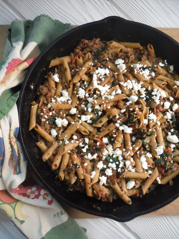 Greek Skillet supper