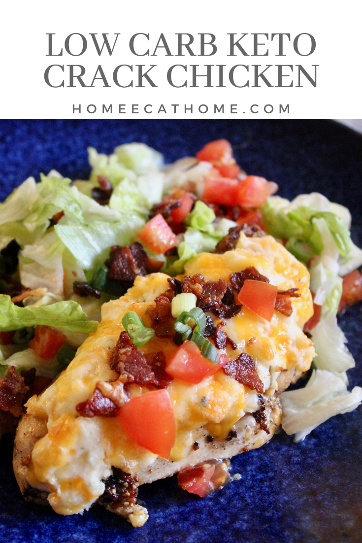 Low Carb Keto Crack Chicken