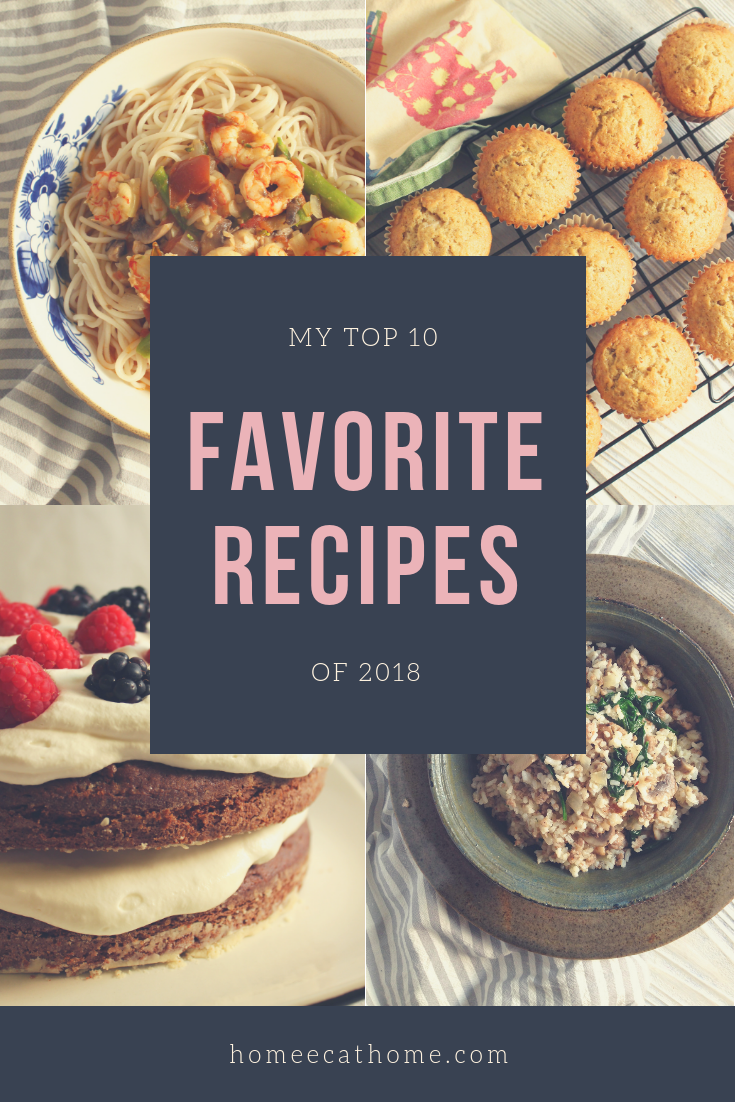 My Top 10 Favorite Recipes of 2018