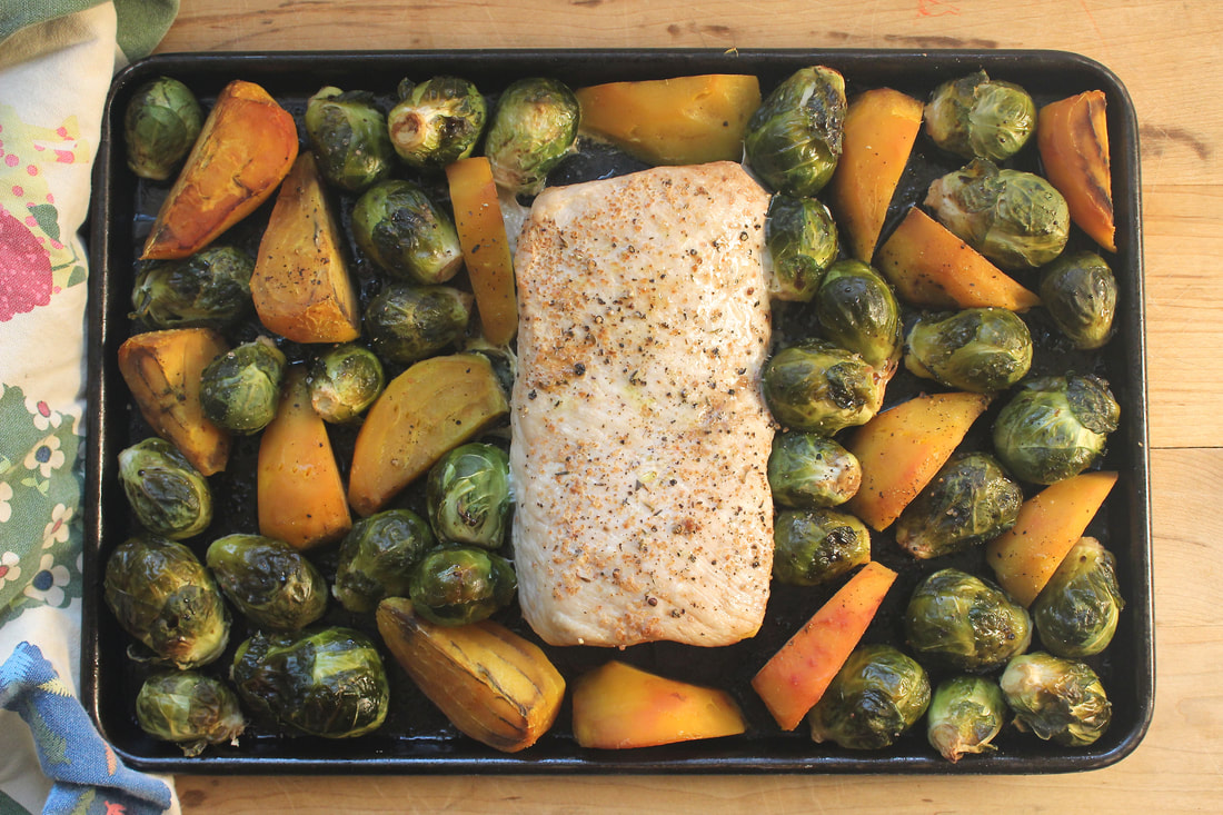 Sheet Pan Roasted Pork Tenderloin