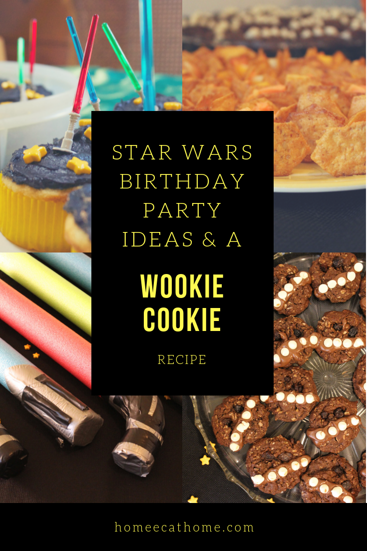 Star Wars Birthday Party Ideas & a Wookie Cookie Recipe